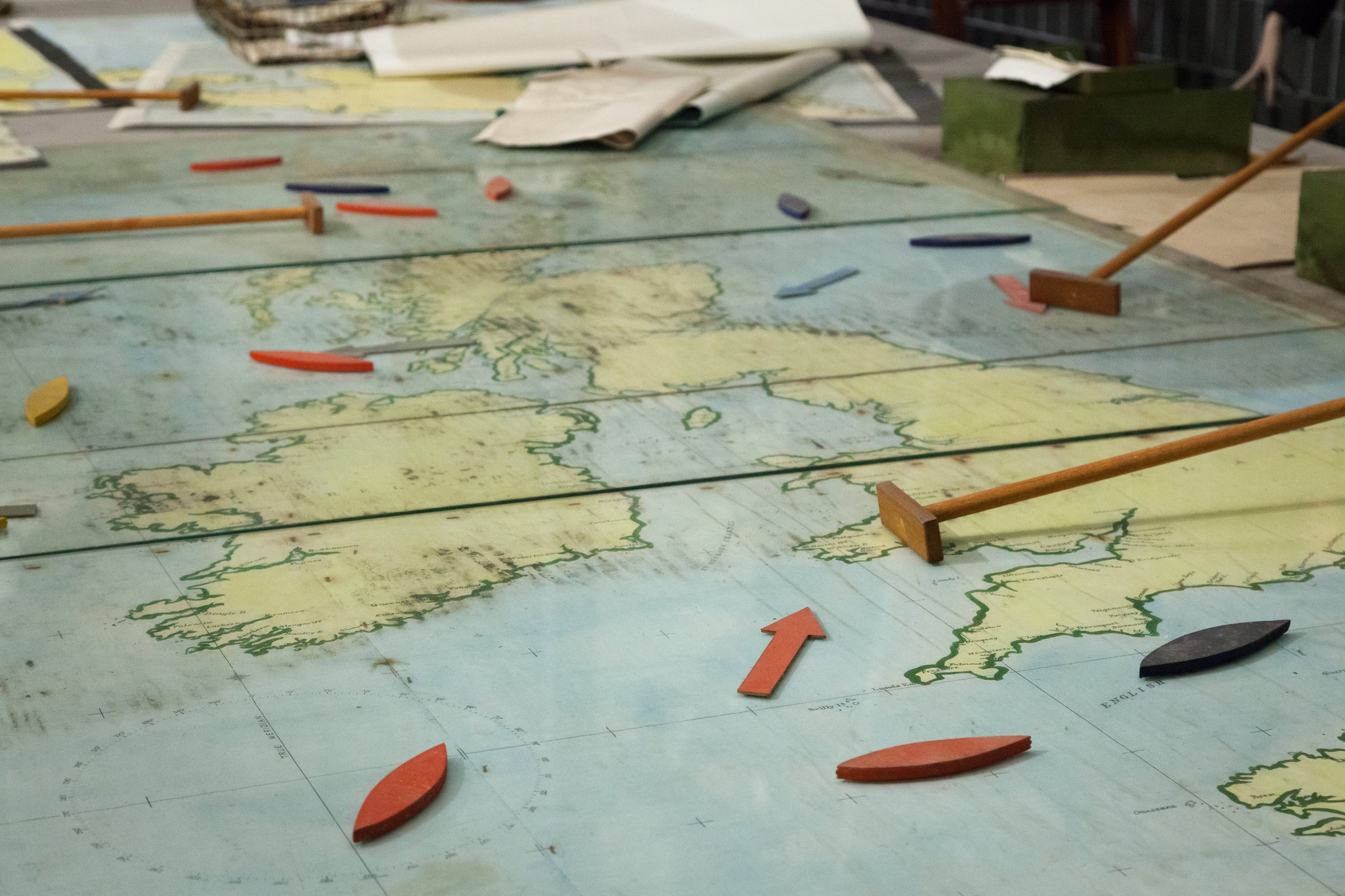 WW2 Operations Room